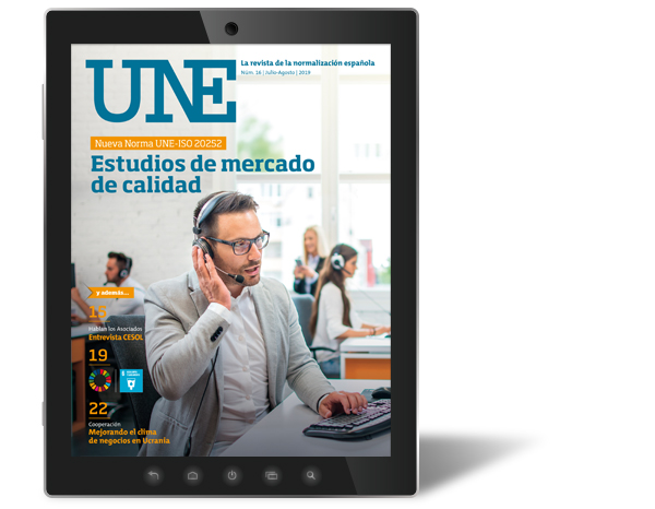 July-August issue of the UNE magazine is available